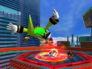 Knuckleschaotix net - Games Knuckles Chaotix, Sonic the