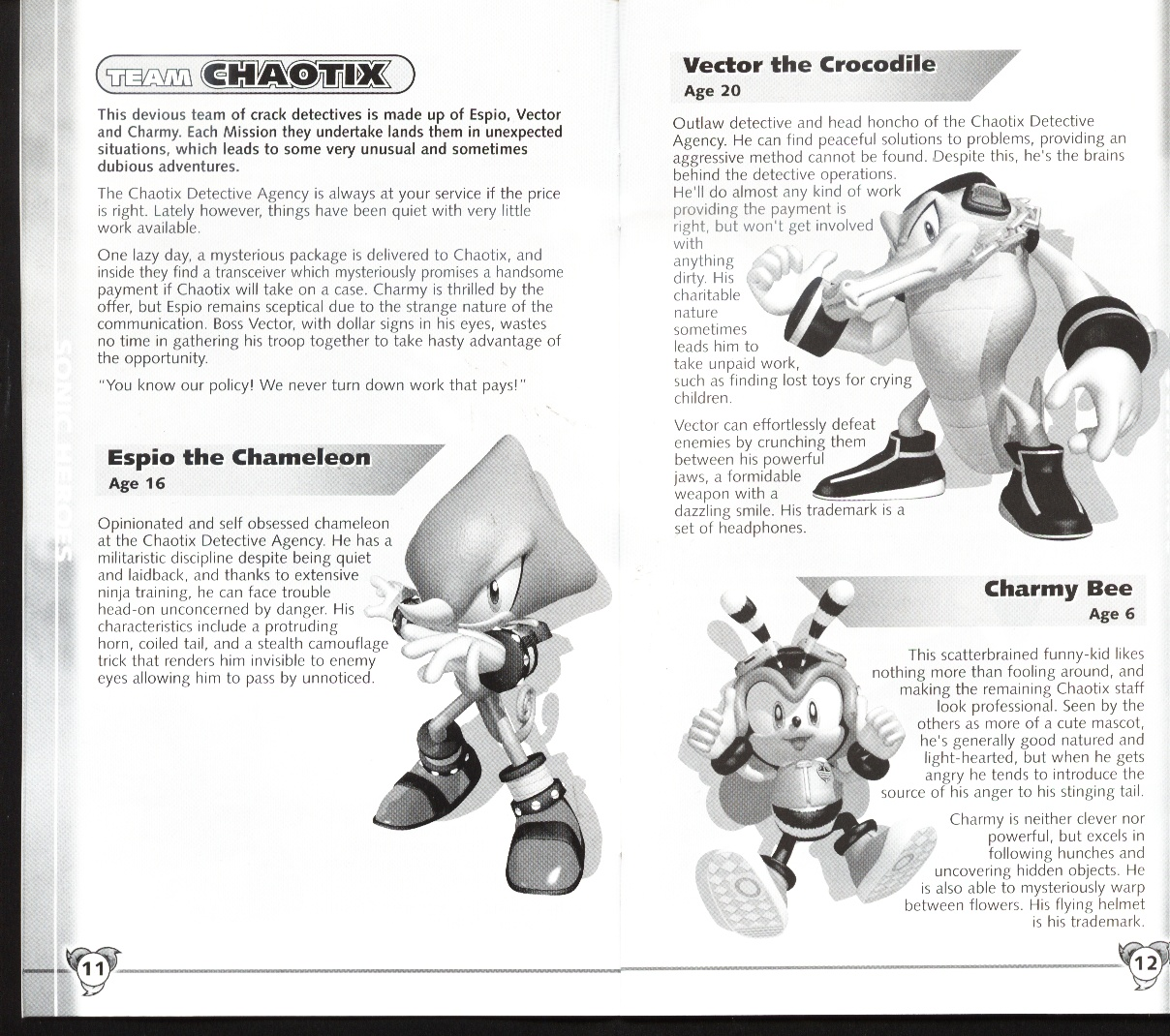 sonic the hedgehog instruction manual